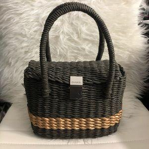 Chanel Wicker Bag
